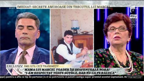 """Mama lui Marcel Toader, despre cele şase neveste ale fiului său: """"I-am respectat toate soţiile, dar preferata mea a fost Raluca!"""""""