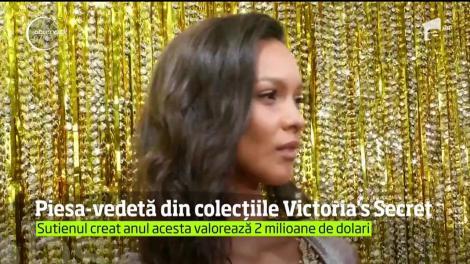 Cea mai scumpă piesă din colecţiile Victoria's Secret va fi purtată de către Lais Riberio