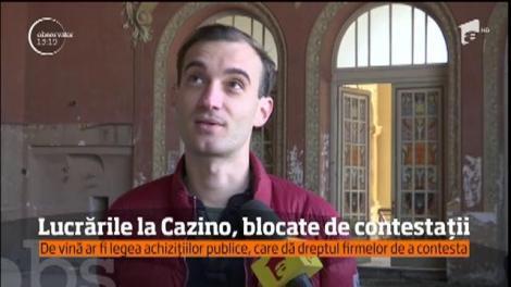Reabilitarea cazinoului din Constanţa bate pasul pe loc