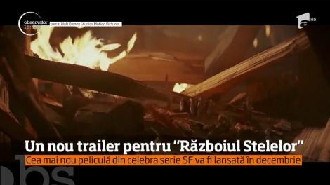 """Surpriză uriașă pentru fanii seriei """"Războiul Stelelor""""! A fost lansat un nou trailer pentru pelicula """"The Last Jedi"""""""