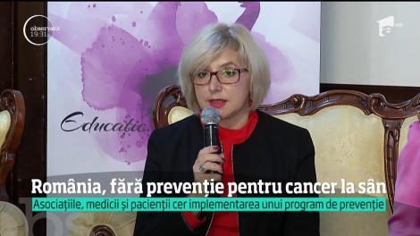 România, fără prevenţie pentru cancer la sân