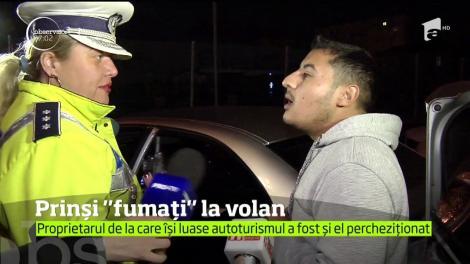 Doi tineri din Capitală, prinși sub influenţa substanţelor psihotrope, în timp ce se afla la volan