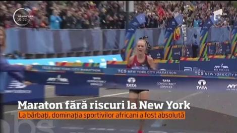 Final liniştit al maratonului de la New York. Competiţia s-a încheiat fără niciun incident