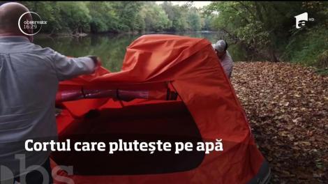 Un american a inventat un cortul care plutește
