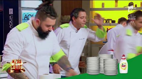 """Chef Bontea face ordine în bucătărie: """"Pleacă de aici! Ionuț, vino încoace! Încep să mă enervez"""""""