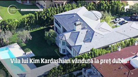 Vila lui Kim Kardashian vândută la preț dublu