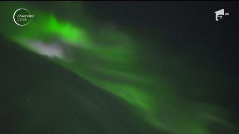 Imagini impresionate cu Aurora Boreală în Finlanda!