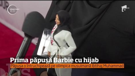 Americanii au lansat prima păpuşă Barbie cu hijab!