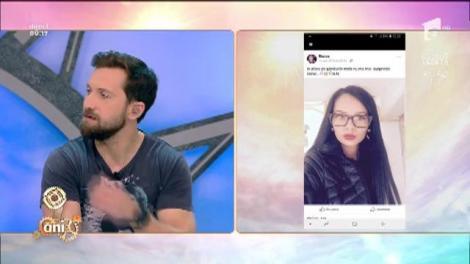 """Ce se mai întâmplă pe Facebook: """"Văd inima da dar sufletu tu e indiferent de mine"""". Răzvan și Dani încearcă să descifreze mesajul"""