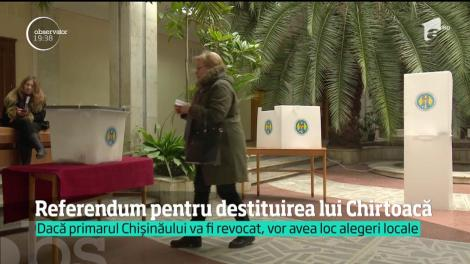 Dorin Chirtoacă află dacă rămâne sau nu primarul Chişinăului