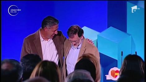 Mariano Rajoy va discuta cu toate forţele politice după alegerile de la 21 decembrie, din Catalonia