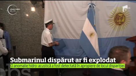 Submarinul dat dispărut în Oceanul Atlantic este posibil să fi explodat