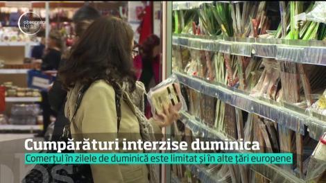 Polonezii au interzis la cumpărături duminica