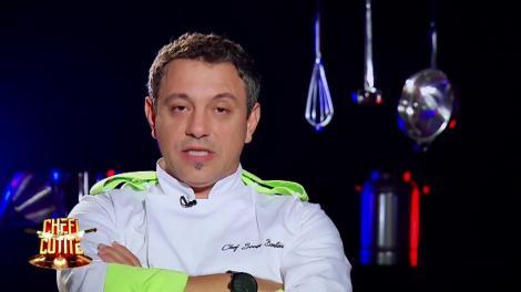 """Samir şi Irina părăsesc competiţia """"Chefi la cuţite"""""""