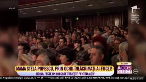 Stela Popescu a adus-o pe fiica ei, Doina Maximilian în platoul Acces Direct, acum 7 ani!