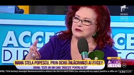 """IN MEMORIAM! Una dintre puținele apariții publice împreună: Stela Popescu și fiica ei, Doina Maximilian, în platoul """"Acces Direct"""", acum șapte ani"""