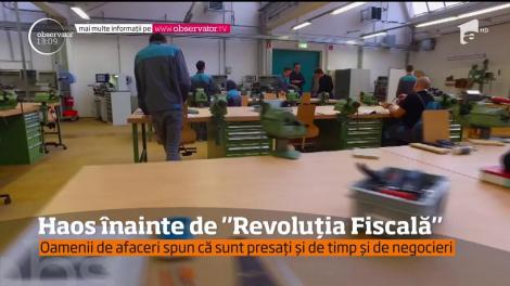 """Haos înainte de """"Revoluția Fiscală"""". Șase milioane de angajaţi nu ştiu ce venituri vor avea în 2018"""