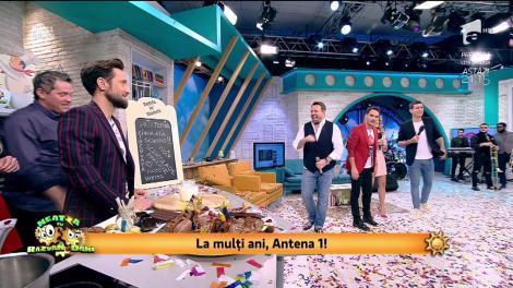 """24 de ani de Antena 1! Iuliana Pepene: """"Acum 24 de ani aveam 2 ani"""""""