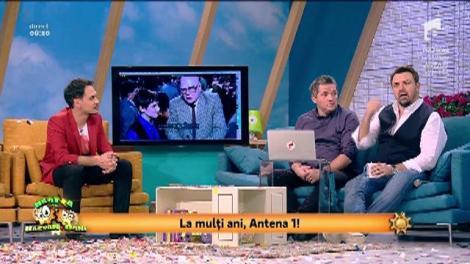 24 de ani de Antena 1! Smiley News! Prima emisie din istoria Antenei 1
