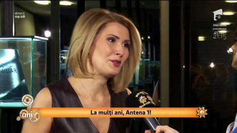 """24 de ani de Antena 1! Sandra Stoicescu: """"Pentru mine Antena 1 este familie"""""""