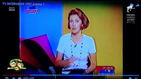 24 de ani de Antena 1! Smiley News! Înainte de Răzvan şi Dani, ba chiar şi de Brenciu, ei au fost PRIMII MATINALI de la Antena 1. Imagini de colecţie!