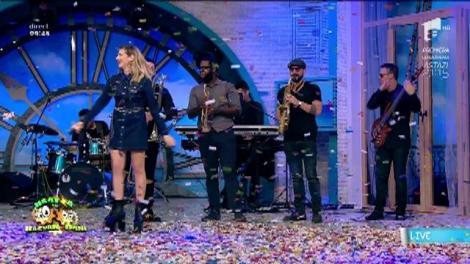 """24 de ani de Antena 1! Lidia Buble cântă piesa """"Inima nu vrea"""", în stil manea"""