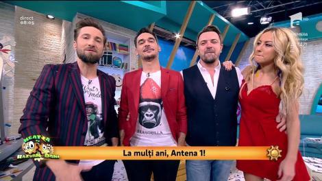 """24 de ani de Antena 1! Dani Oțil: """"L-am adus pe Horia Brenciu, aici, din trei motive"""""""