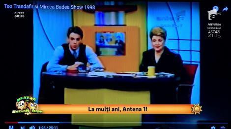 "24 de ani de Antena 1! Smiley News! ""Teo și Mircea Sou"" 1998"