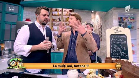 """24 de ani de Antena 1! Vlăduț pregăteşte tortul """"Prietenia"""""""