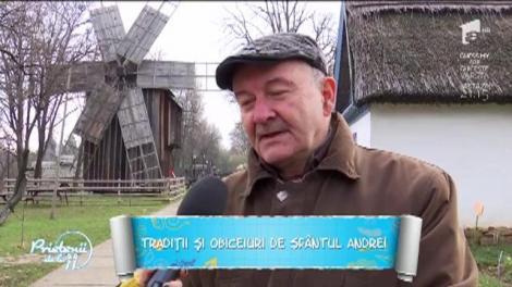"""Vechi tradiții și obiceiuri de Sfântul Andrei! Corneliu Dumitrescu, sociolog: """"Tinerii lăsau în grija unei femei în vârstă usturoiul ca să nu-l fure strigoii"""""""