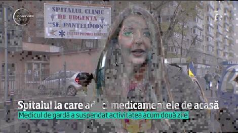 Pacienții de la Spitalul Pantelimon din Capitală sunt puși să aducă anestezicul de acasă