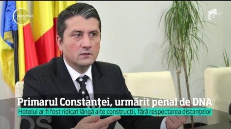 Primarul Constanţei, Decebal Făgădău, urmărit penal de DNA