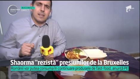 Uniunea Europeană nu vrea să interzică shaorma, mâncarea preferată de fast-food a românilor