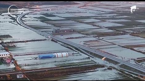 Inundaţii devastatoare în Albania