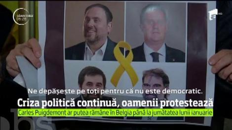 Criza politică din Catalonia este departe de a se încheia