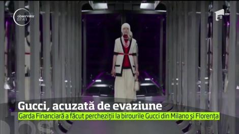 Celebra casă de modă Gucci este suspectată de evaziune fiscală