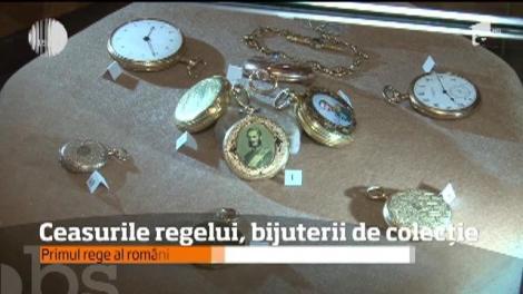 Ceasurile regelui Carol I, vedetele Muzeului Ceasului din Ploieşti