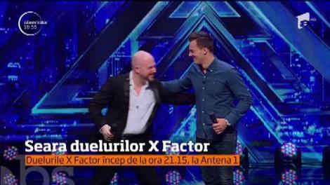 Urmează o ediție plină de adrenalină şi suspans, pe scena X Factor. Este seara duelurilor!