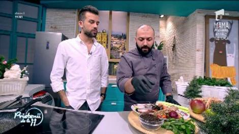 O reţetă de zile mari  Andrea Di Russo gătește tartar de langustine cu sparanghel și trufe