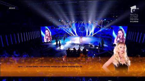 Teodora se întoarce mai puternică și mai determinată ca oricând. Lecție de muzică predată de un copil de 16 ani pe scena X Factor!