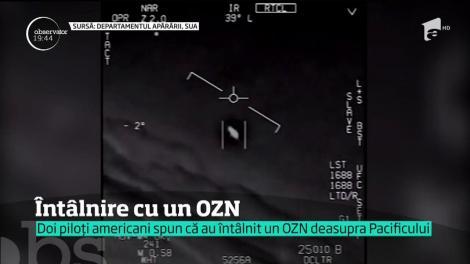 Doi piloţi americani spun că s-au întâlnit cu un OZN