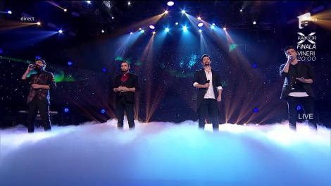 O arie celebră nu putea fi adusă la X Factor decât de patru voci geniale. Muschetarii de la Ad Libitum au fost înălțători!