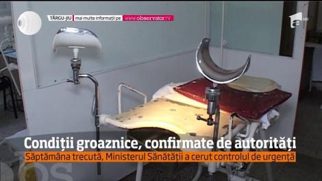 Condițiile groaznice de la Maternitatea din Târgu-Jiu, confirmate şi de autorităţi
