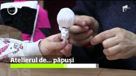 Copiii din Baia Mare au avut ocazia să îşi confecţioneze jucăriile chiar cu mânuţele lor, într-un atelier de profil