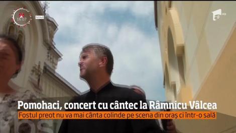 Edilii vâlceni au decis mutarea concertului lui Cristian Pomohaci de la Târgul de Crăciun, în sala de spectacole a Sindicatelor
