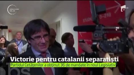 Victorie pentru catalanii separatişti
