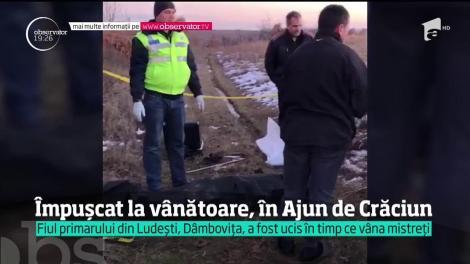 Fiul primarului unei comune din Dâmboviţa, împușcat la vânătoare