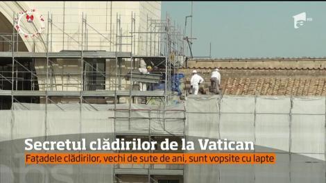 Secretele ascunse de vopseaua folosită pentru renovarea clădirilor de la Vatican