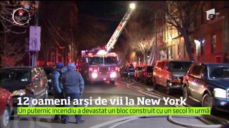 Tragedie! Cel puţin 12 persoane şi-au pierdut viaţa în incendiul unui bloc de apartamente, în cartierul Bronx din New York