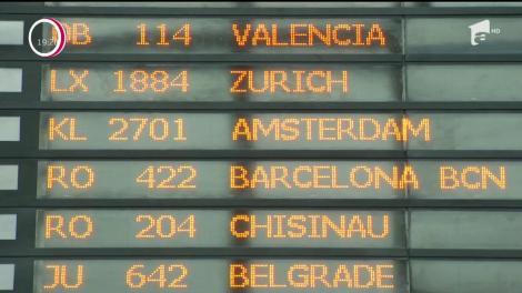 Zeci de români au rămas blocaţi mai bine de 20 de ore pe aeroportul din Amsterdam